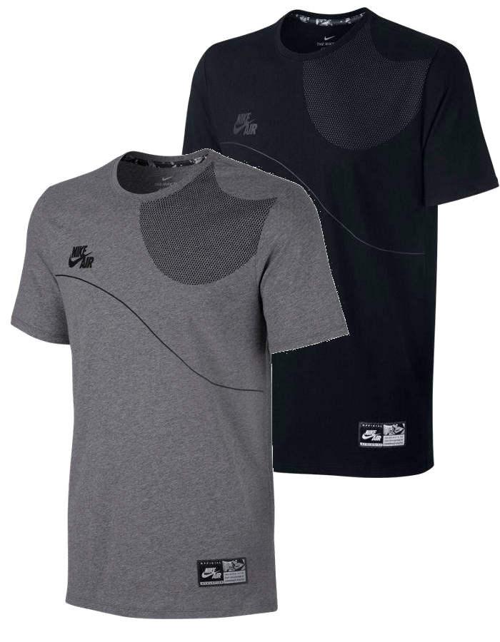 AIR TEE 2 Nike T shirt tempo libero Uomo 2017 Cotone