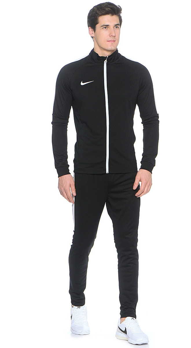 dry academy nike training tracksuit black 010 men 2017 ebay. Black Bedroom Furniture Sets. Home Design Ideas