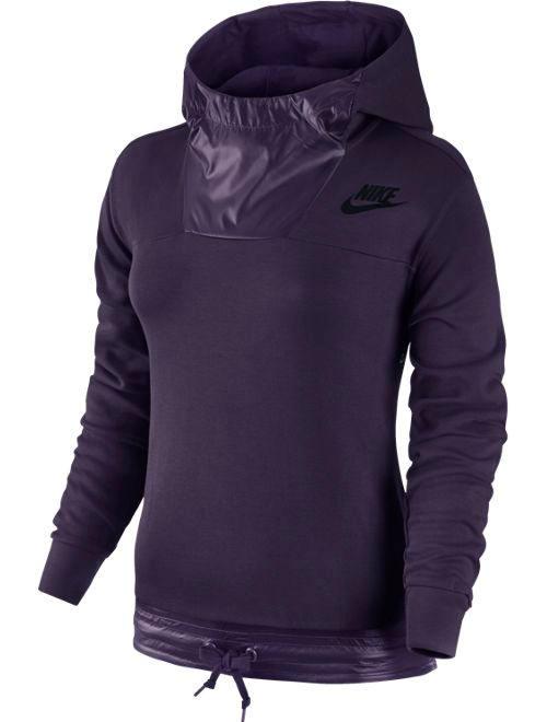 sportswear advance 15 pullover nike kapuzen hoodie damen. Black Bedroom Furniture Sets. Home Design Ideas