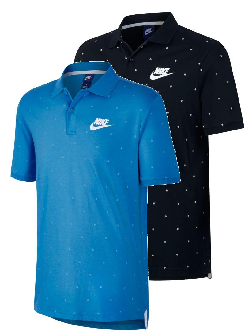 caf98896b6e1e Nike Polo Maglia Shirt Sportswear Pois 2017 Uomo maniche corte Cotone