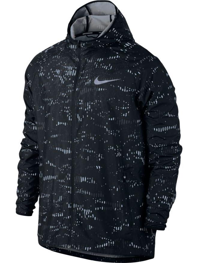 nike training jacke jacket essential hooded running. Black Bedroom Furniture Sets. Home Design Ideas