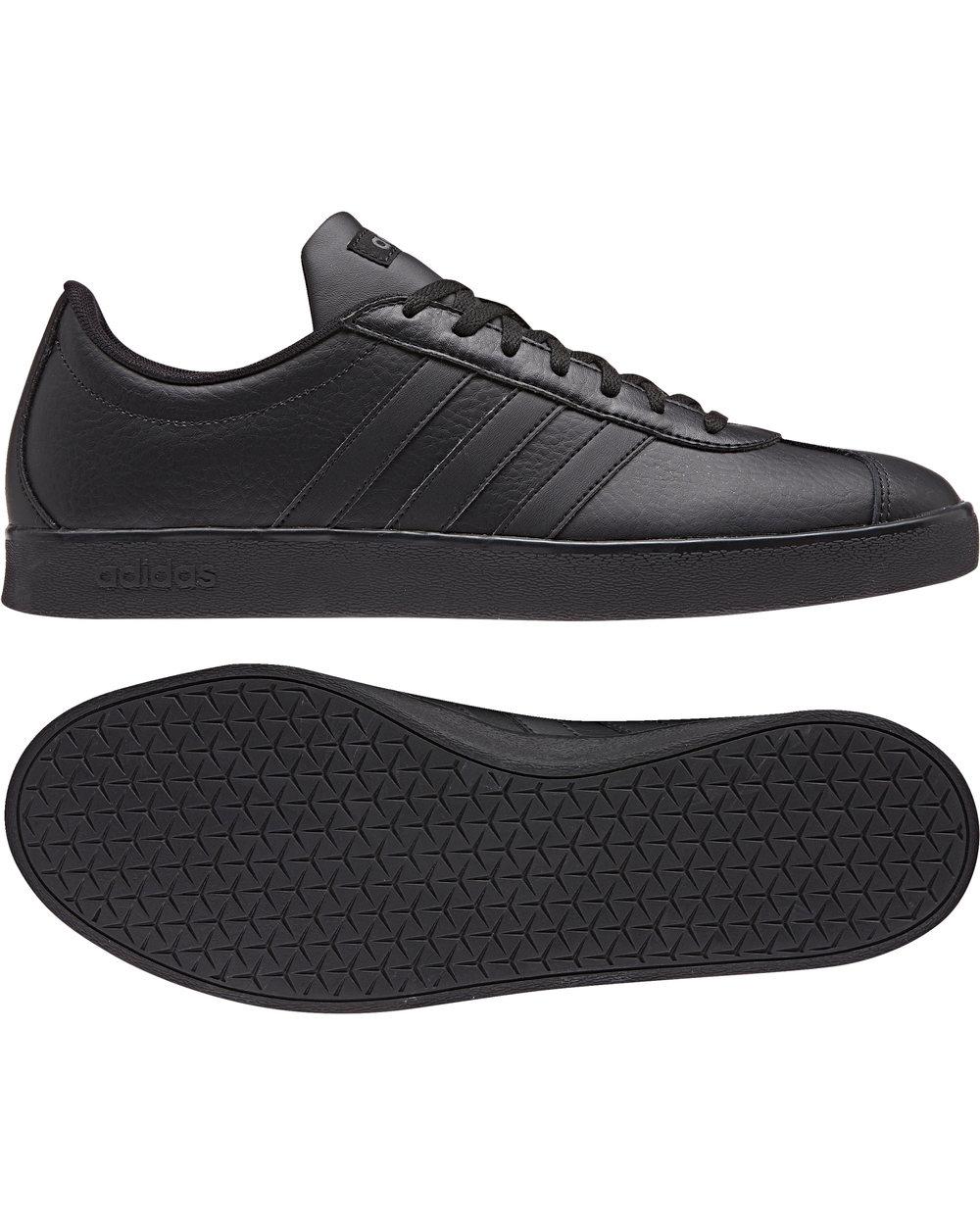Bdidas Sport Schuhe Trainers Boots Shoe Schwarz vl court 2.0 gazelle style