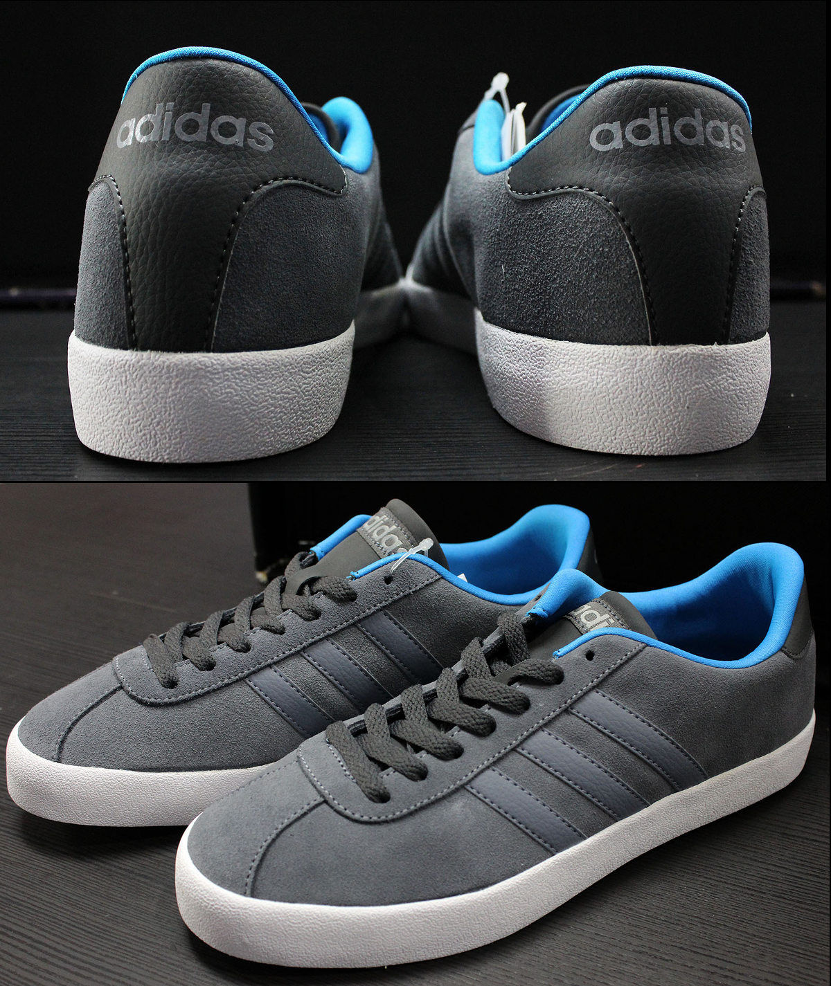 adidas sneakers shoes trainers boots schuhe sport vl court gazelle grey ebay. Black Bedroom Furniture Sets. Home Design Ideas