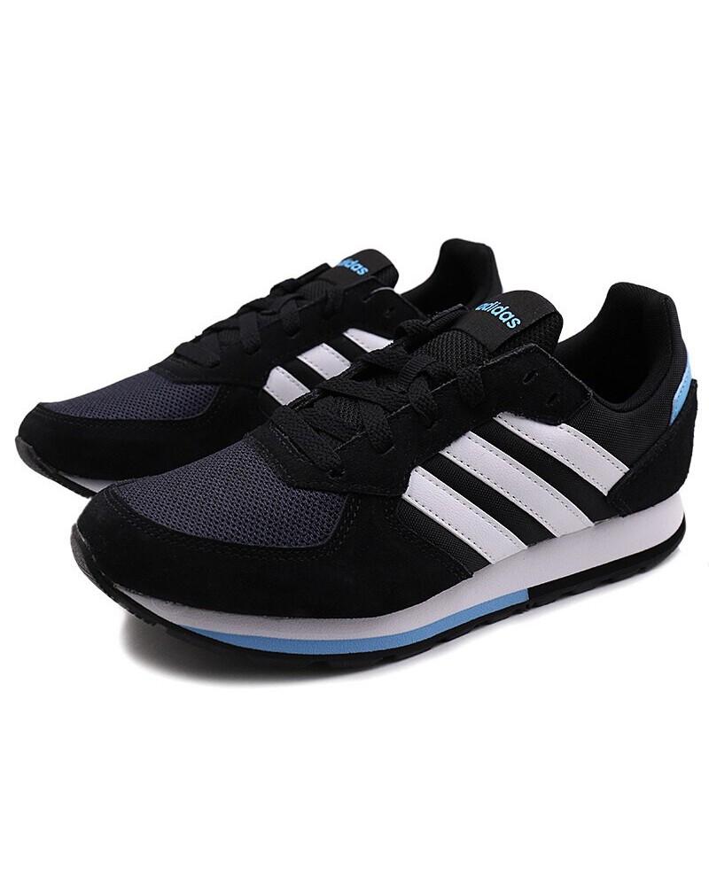 the latest 21b96 60d8d Donna Adidas Sneakers K Sportswear 8 Nero Lifestyle Scarpe Sportive 4EqwxrXE