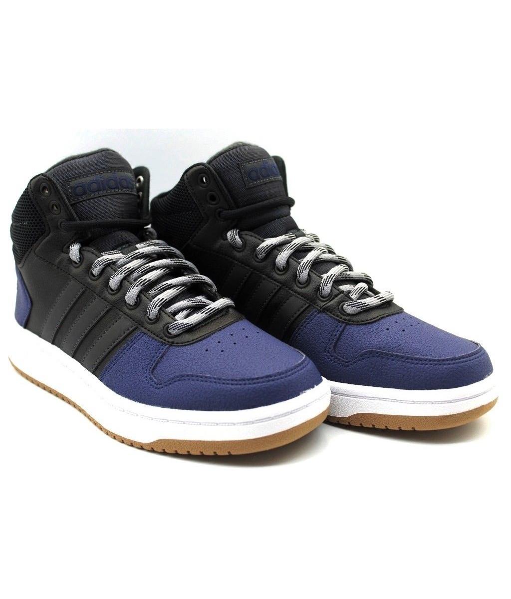 Adidas pantofole de deporte deportivos blu tobillo alto aros 2.0 medio 2018   Economico E Pratico    Scolaro/Ragazze Scarpa