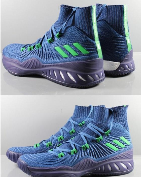 adidas sport schuhe boots shoe basket crazy explosive blau. Black Bedroom Furniture Sets. Home Design Ideas