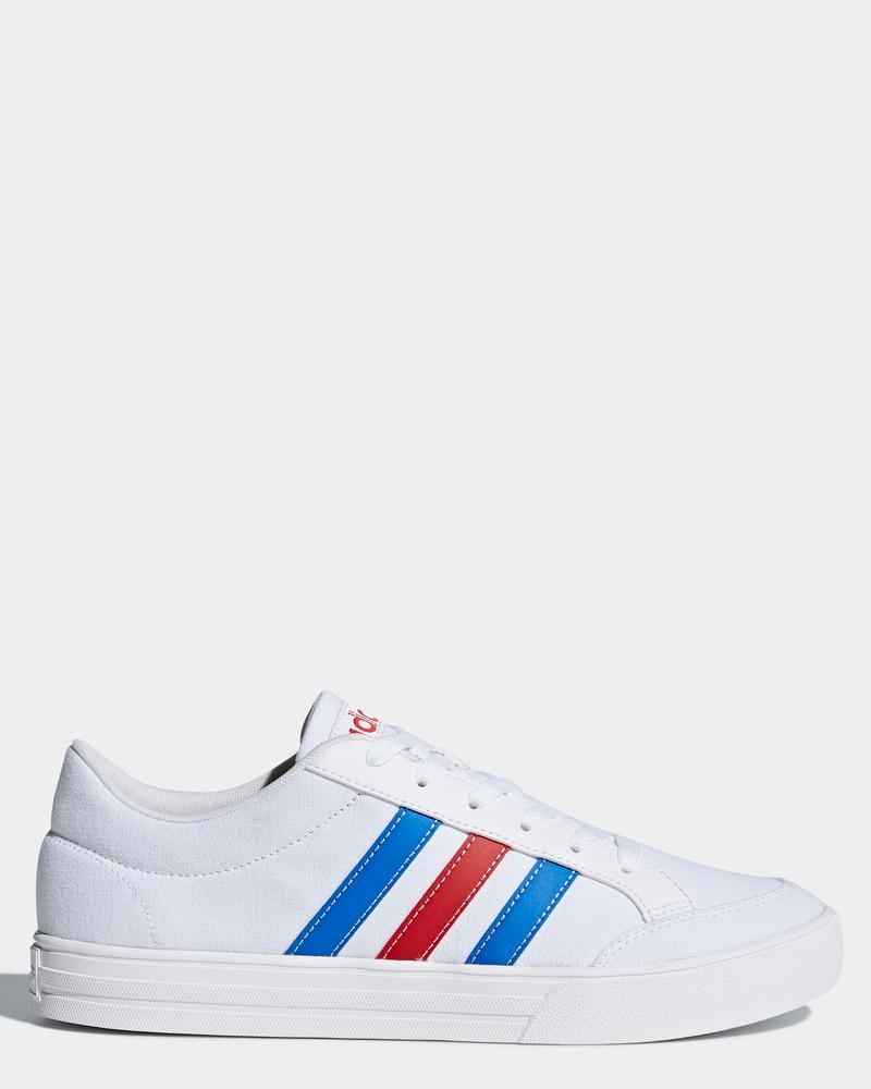 Adidas-Scarpe-Sneakers-Trainers-Sportive-Ginnastica-Tennis-Bianco-