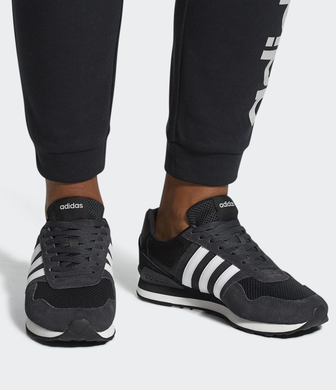 2 di 8 Adidas Scarpe Sneakers Sportive 10K 2018 19 Nero