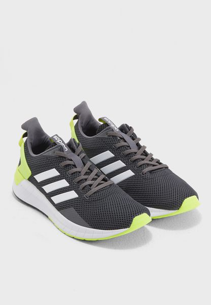 Adidas Sneakers Chaussures Trainers Bottes Running Sport Questar ride noir