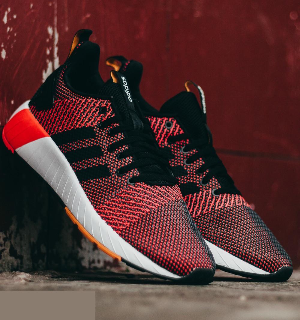 Adidas Hausschuhe Deportivas zapatillas schwarz Orange Questar Byd Runing