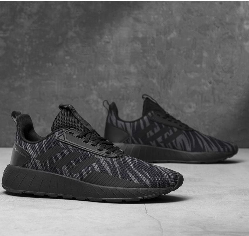 Adidas Chaussures sportif Sneakers  Chaussures  Questar Drive Noir Camo