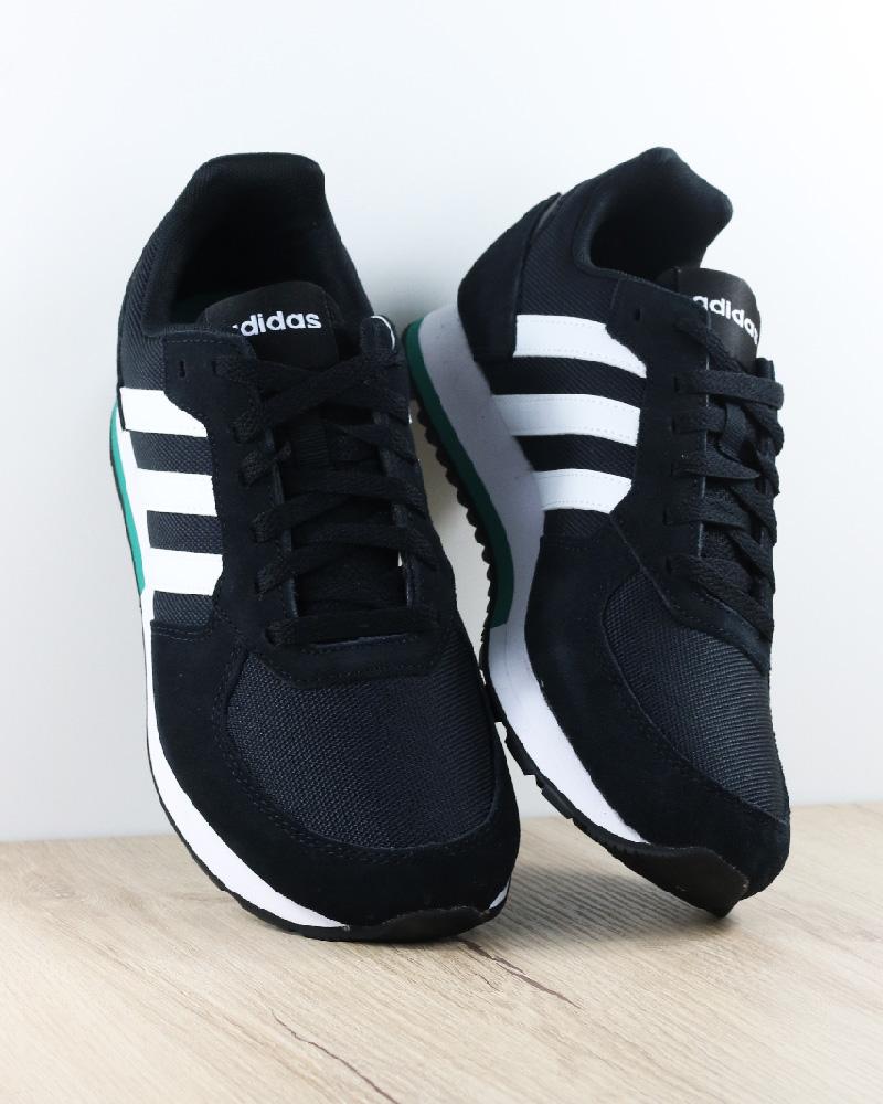 Adidas Sautope Sportive sautope da ginnastica 8K Nero Sportswear Lifestyle Sautope classeiche da uomo
