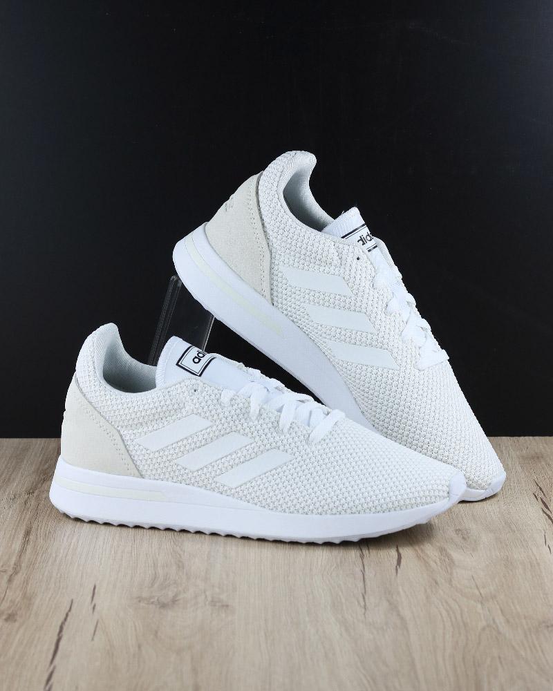 Adidas Baskets Sport RUN70S Blanc Sportswear Lifestyle