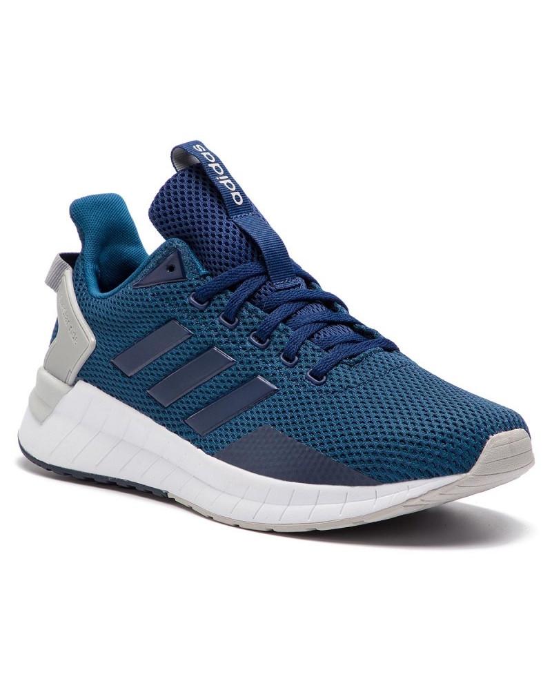 Adidas Chaussures sportif Sneakers Running Blue Questar Ride
