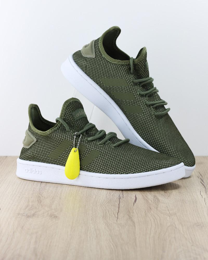 Adidas zapatos sportif Mesh Trainers zapatos Sport Court Adapt verde
