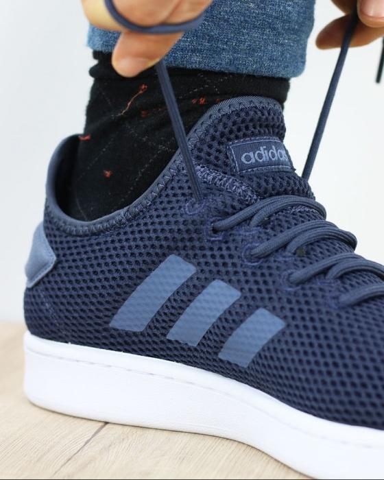 Adidas Scarpe Sportive Tennis Sneakers Court Adapt Blu