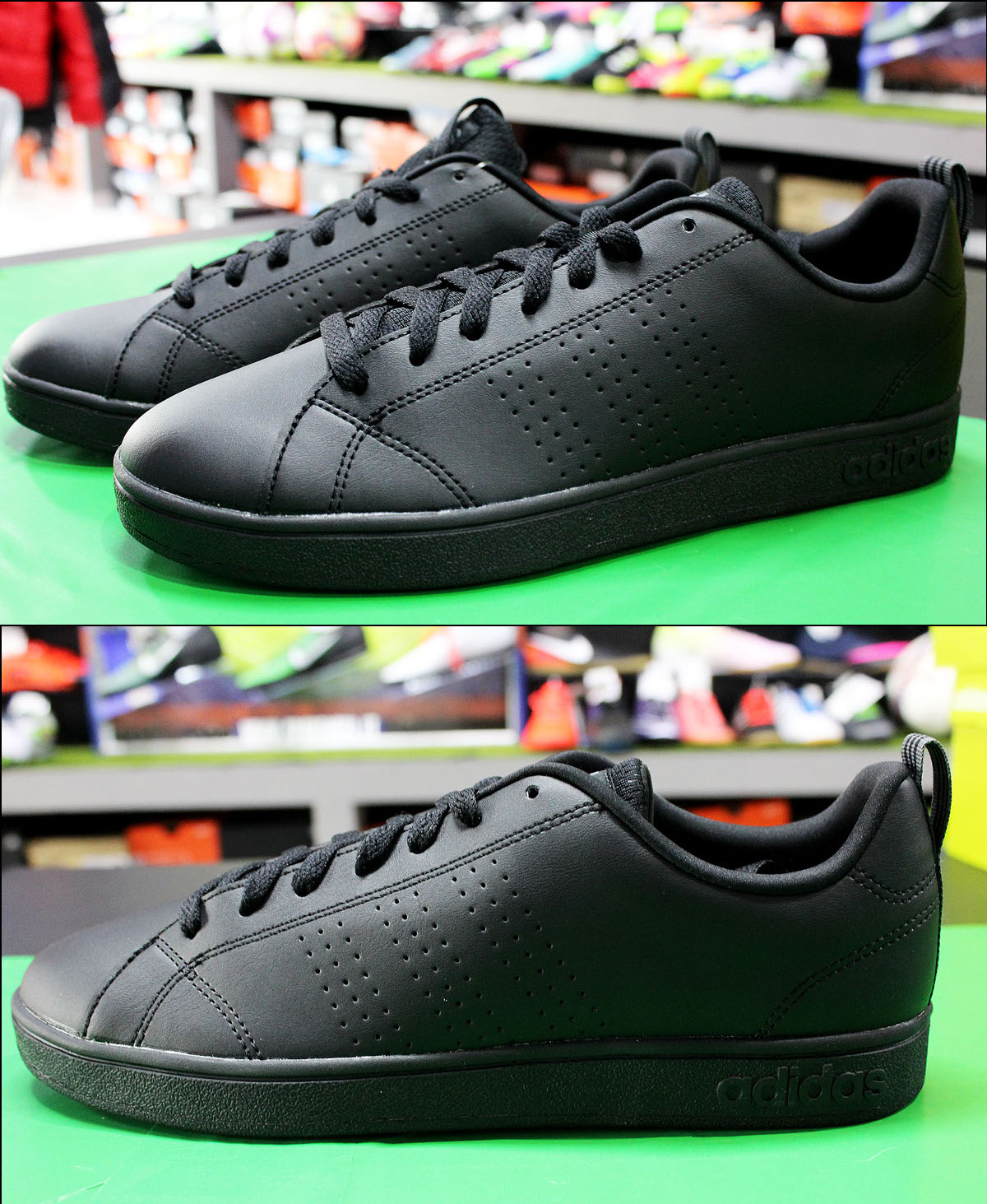 Adidas Scarpe Scarpe da Ginnastica  Sportive advantage Clean Nero    Ginnastica  58f187