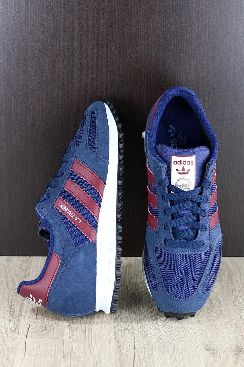 Trefoil Sneakers da blu Sportive Adidas Allenatore L Originals a Scarpe ginnastica 1qxItO5t