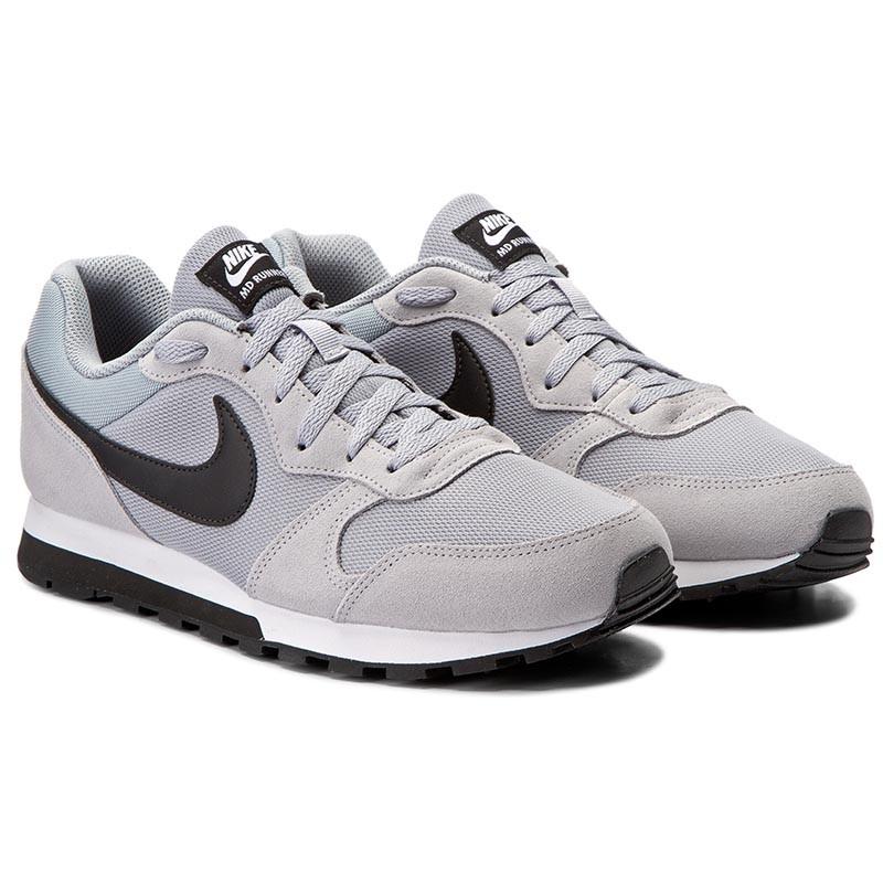 Nike Scarpe  Sportive MD Runner 2 Grigio Sportswear Lifestyle