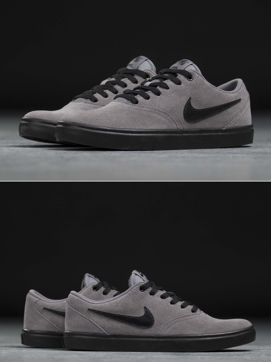 Chaussures Sb Shoes Sneakers Sportif Vérifier Solarsoft Sportswear Gris Nike BO7CYqwdq