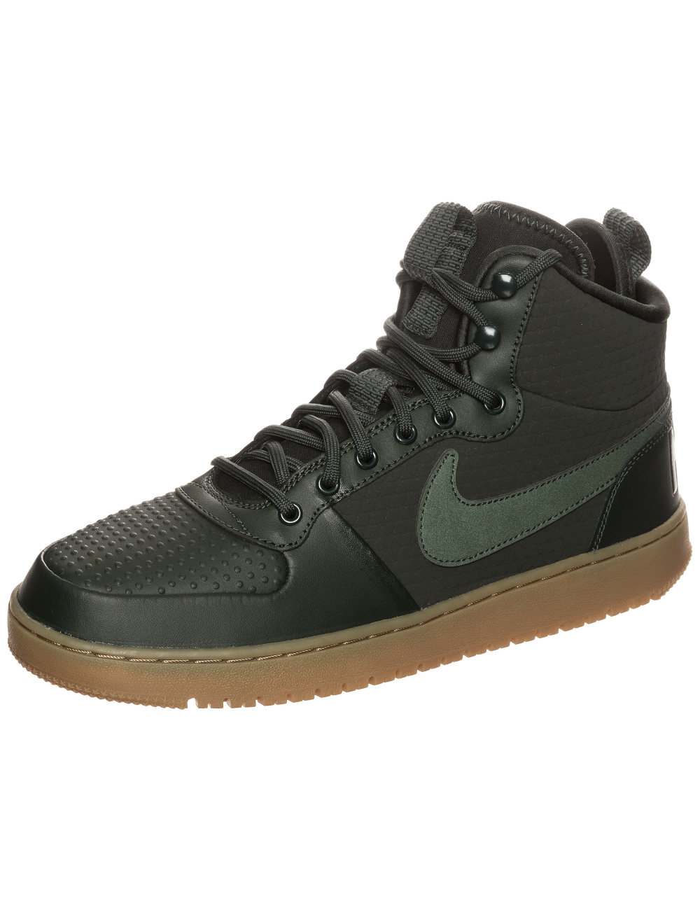 Chaussures sportif Sneakers chaussures Sport Court Borough Mid Winter Vert 2018