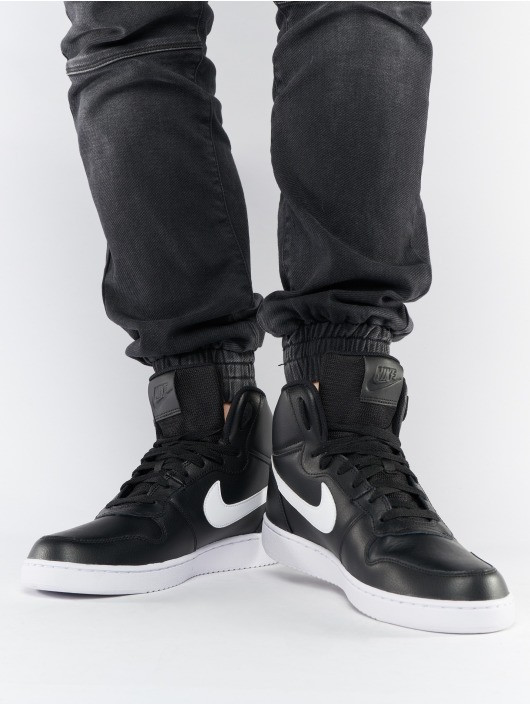 Nike Sneakers shoes Sport Sportswear lifestyle Black White Ebernon Mid