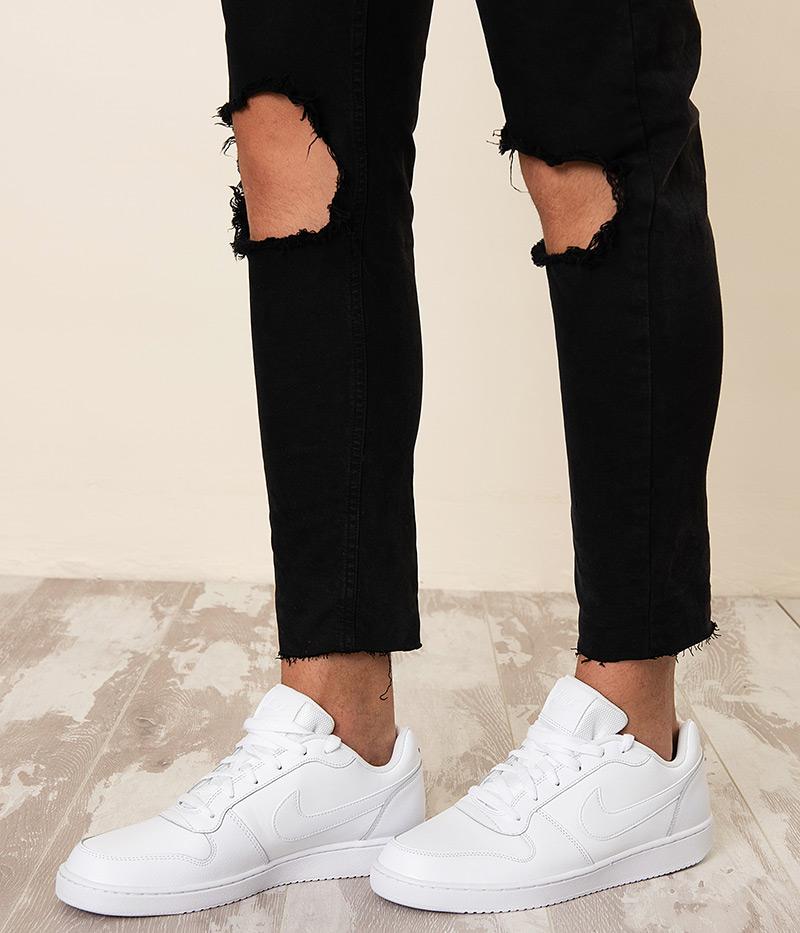 quality design 08afb 50846 Nike Sport Shoes Sneakers Sportswear Ebernon low lifestyle White Men ...