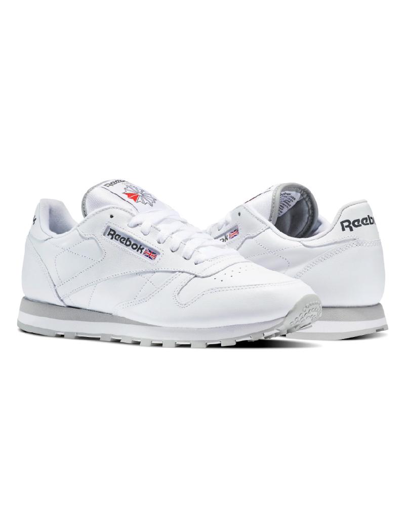 Reebok Sport Schuhe Turnschuhe schuhe Lifestyle sportswear Klassisches Leder weiß   | Günstige