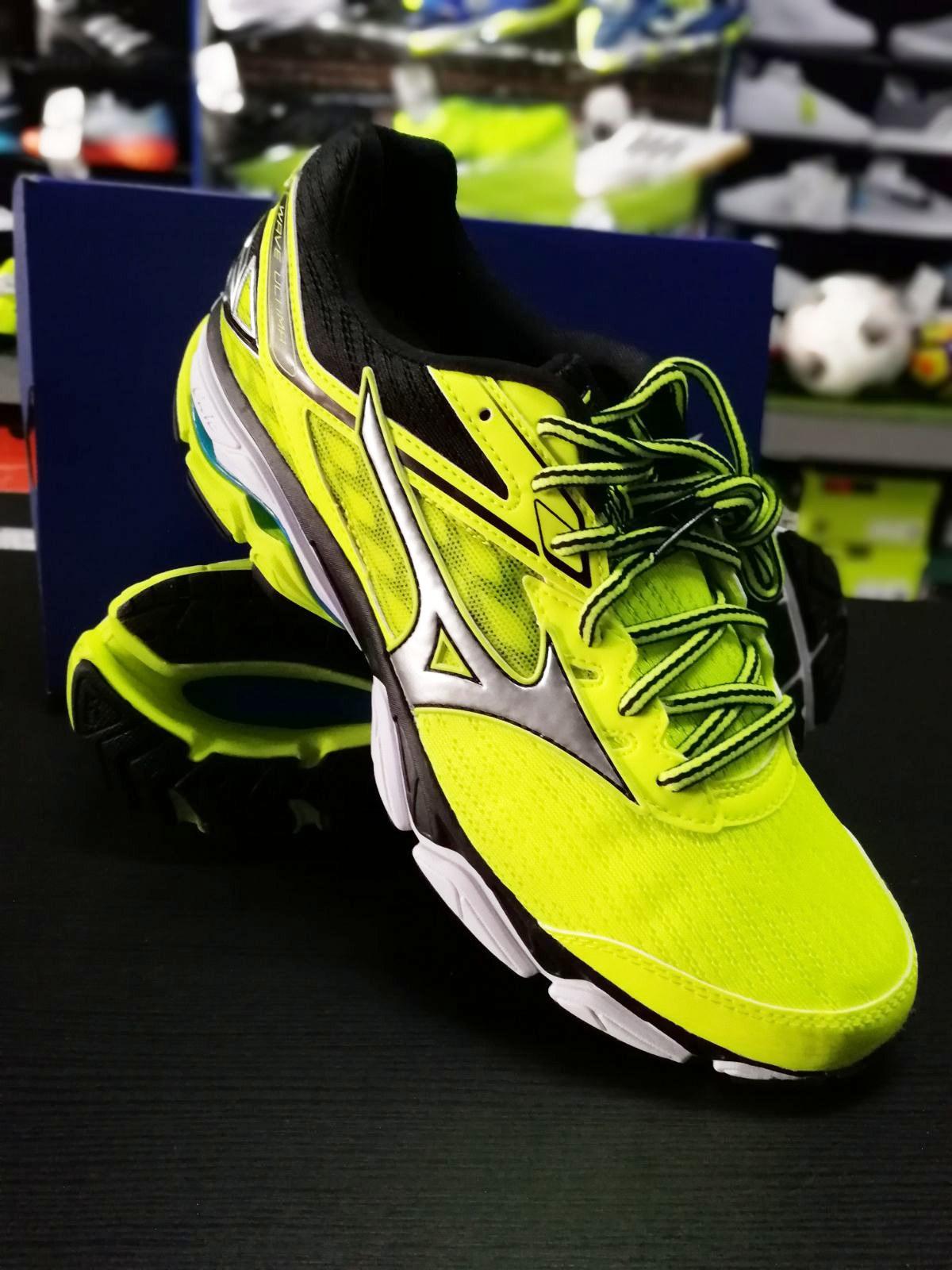 Cómodo y bien parecido Mizuno Wave Ultima 9 Scarpe Corsa Running Shoes Zapatillas Trainers Giallo Uomo