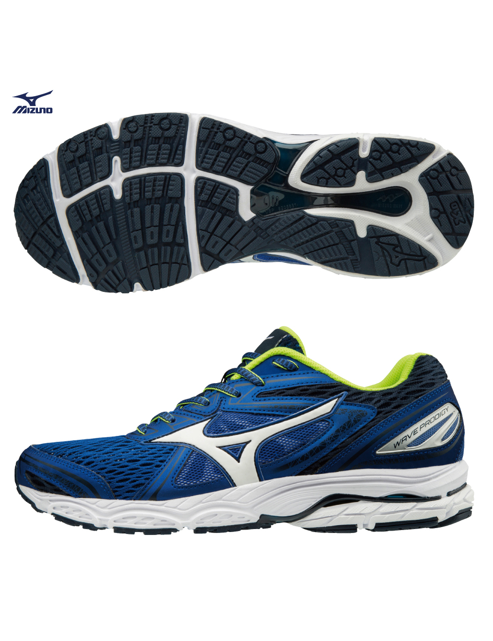 save off bffd9 8b647 Mizuno Chaussures De Course Running Baskets Formateurs Formateurs Formateurs  Wave Prodigy 271c9a