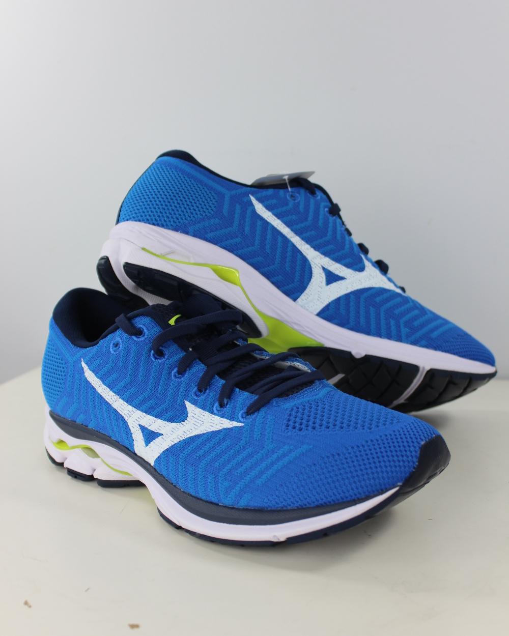 Mizuno SportSchuhe LaufSchuhe Turnschuhe Turnschuhe Turnschuhe Running schuhe Trainers WAVEKNITR1 blau  | Am praktischsten  98c836