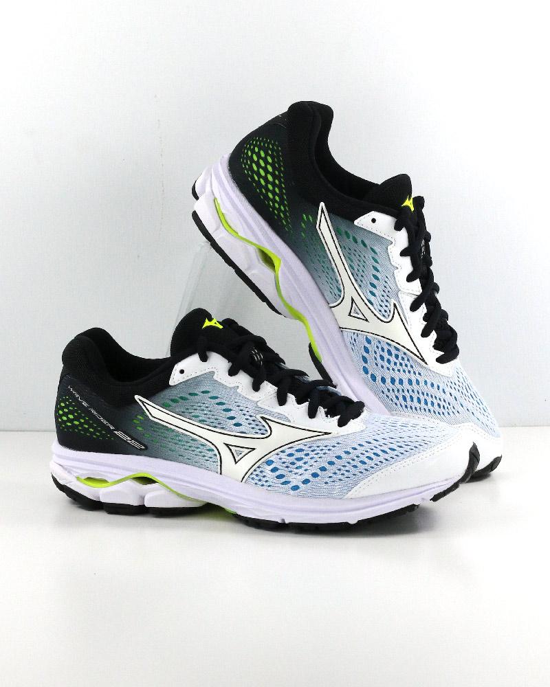 Mizuno-Scarpe-Corsa-Running-Shoes-Sneakers-Trainers-Wave-Rider-22-Bianco