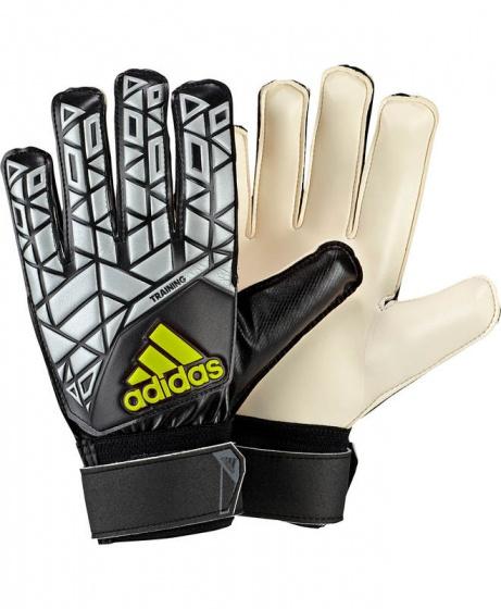 Détails sur 2016 17 Adidas Gant de Gardien Keeper Gloves Gris Ace Training Homme