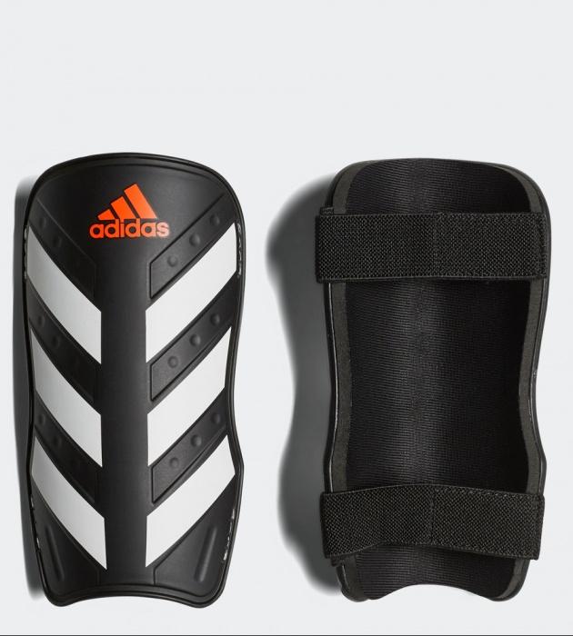 Détails sur Adidas Protege Tibias Shin Guard Pads Noir Everlite Homme
