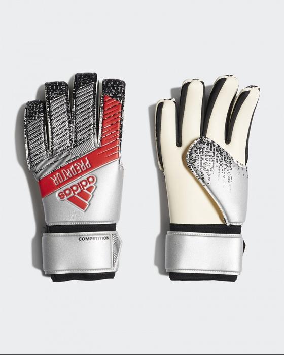 performance sportswear good low priced Predator Competition Gloves Keeper Keeper Men 2019 20 Grey ...
