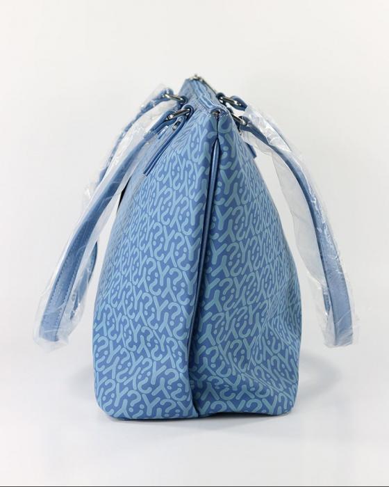 Borsa Donna Woman Bag tg Borsetta Blu GU1018-JEANS Ynot