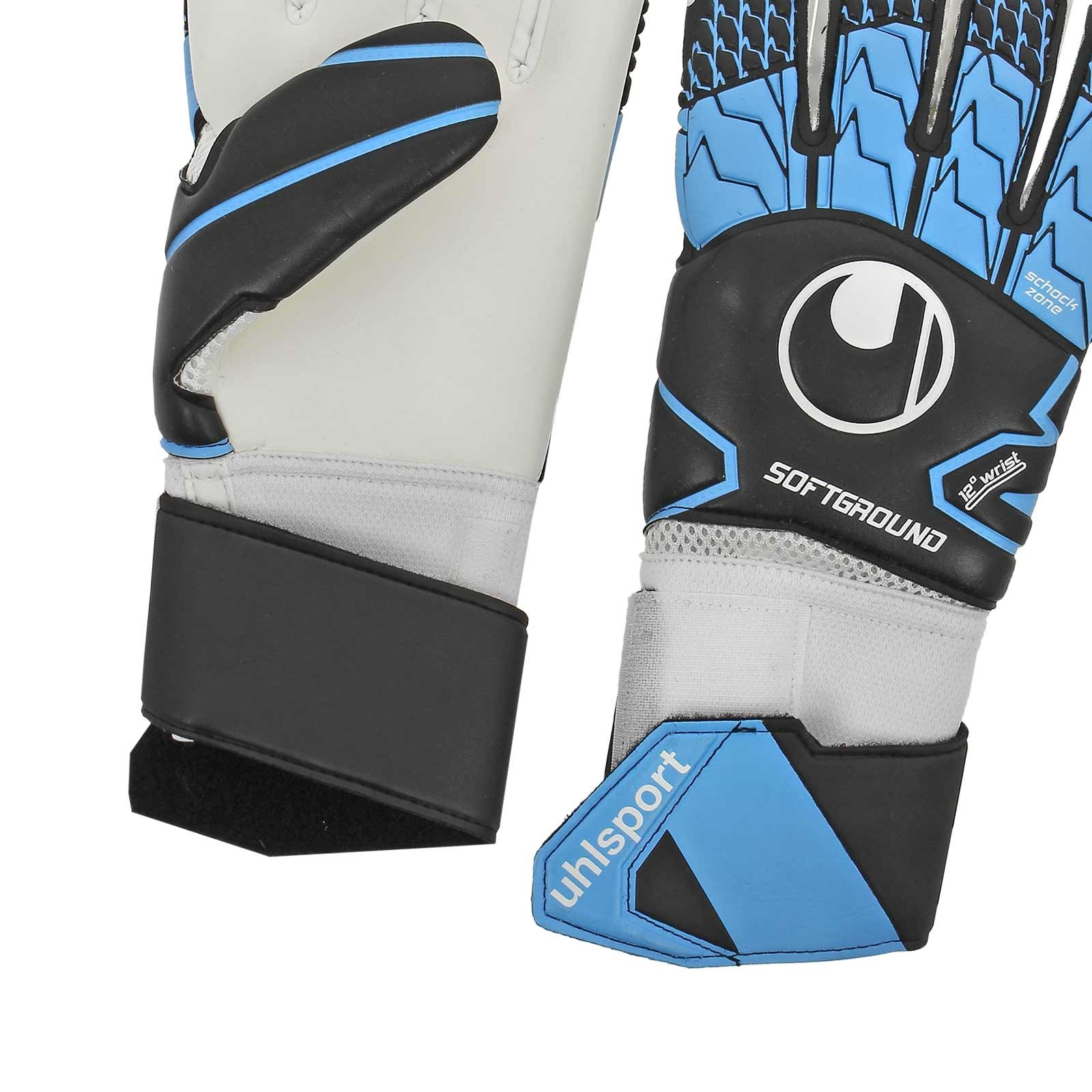 Uhlsport-SOFT-HN-Competition-Gant-de-Gardien-Keeper-Gloves-Bleu-noir miniature 7