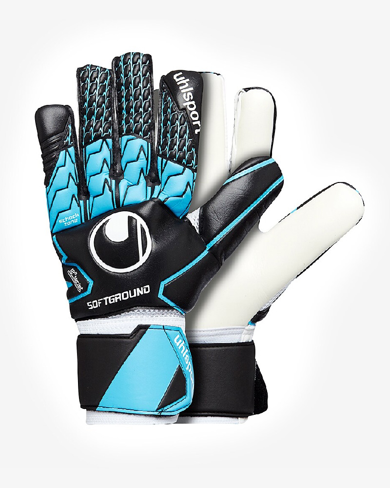 Uhlsport-SOFT-HN-Competition-Gant-de-Gardien-Keeper-Gloves-Bleu-noir miniature 8