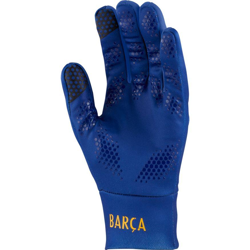 Nike Winter Gloves: Nike FC Barcelona Stadium Football Gloves Winter Gloves
