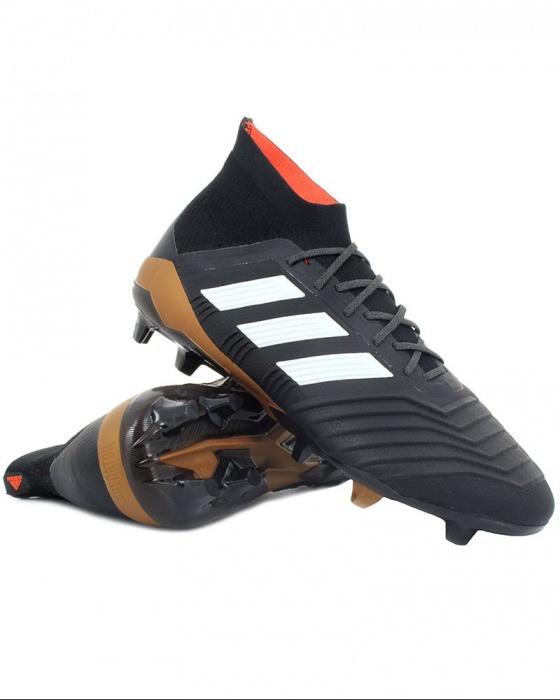 Top Football Adidas Primeknit Nero Scarpe 18 1 Calcio gamma di FG Predator aZ4zZnqE