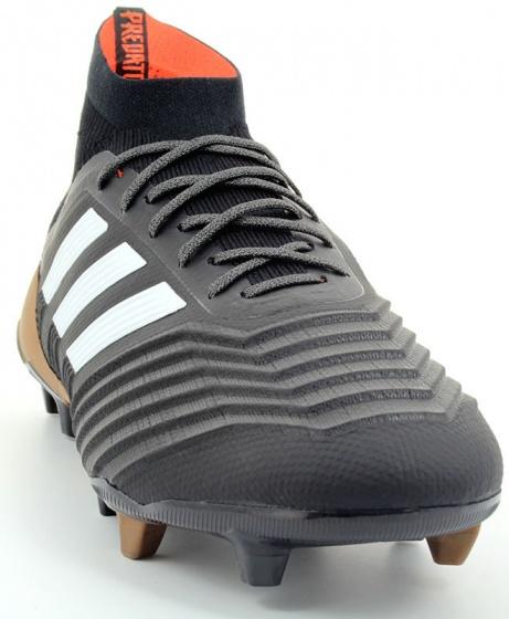 the best attitude 20fa1 55ea3 ... Scarpe Calcio Adidas Predator 18.1 Primeknit FG Uomo Nero Top di gamma  calzino SKY STALKER ...