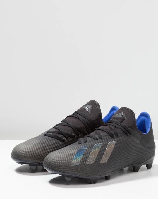 Dettagli su Football Adidas Scarpe Calcio X 18.3 FG Nero ARCHETIC