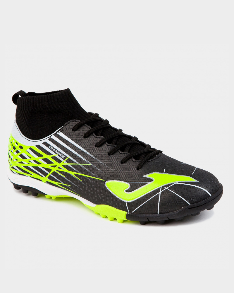 b7472be18b67c Football boots shoes Joma Cleats Champion Black Turf Trainers With ...
