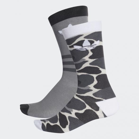 Détails sur SOLID CREW Adidas Originals Trefoil chaussettes Socks Socken 2 paires Bicolor