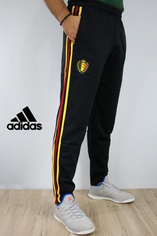 ... Chándal de entrenamiento de Bélgica Copa del mundo 2018 pantalones  adidas versión Boogeyman PES Banco entrenamiento ... c8eeaaee9eb7