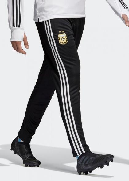 Argentina AFA adidas trousers suit pants World 2018 Training Black | eBay