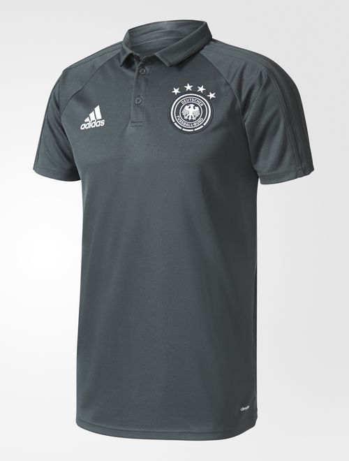 Deutschland Germany DFB Adidas Polo Shirt Staff 2017