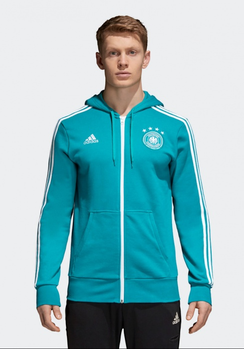 Capucha Sport Chaqueta 3s Sportiva Jacket Alemania Adidas Verde BOWnff