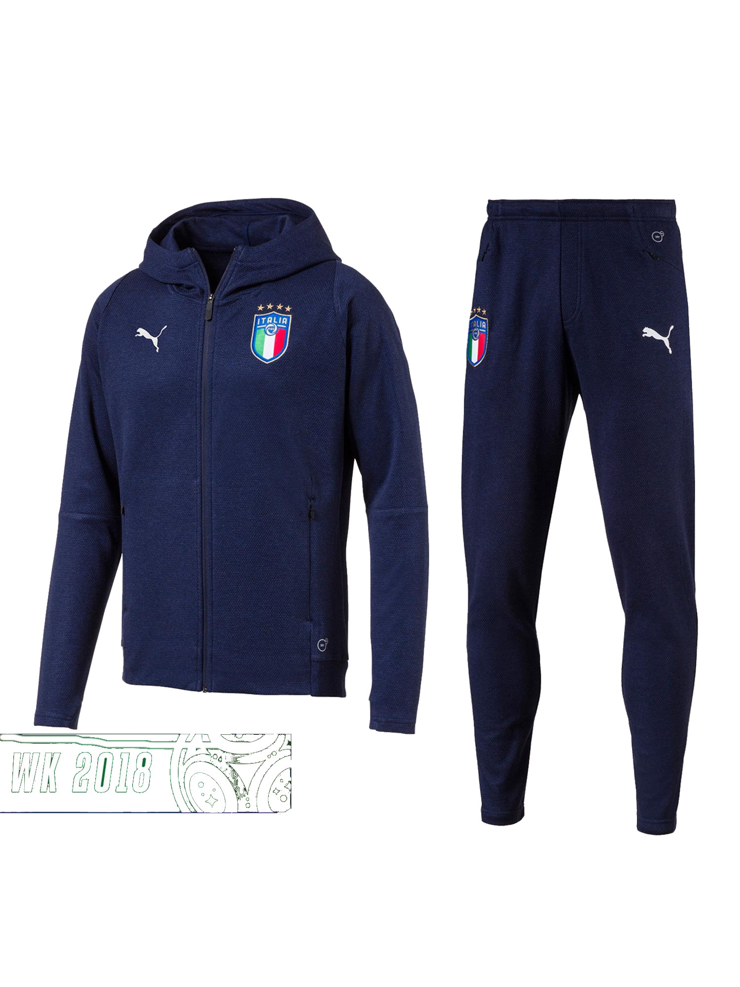 c272fea8db3a5 Italy Italia Italien Puma Sport Tracksuit Casual Performance Sweat ...