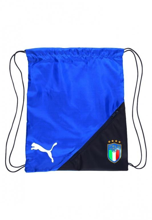 5722d0d9a1b00 Sacca Gym sack Italia FIGC Puma 2018 azzurro Originale - Gymack sack Italy  FIGC Puma 2018 ...
